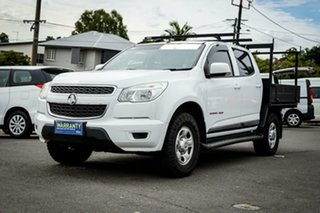 2015 Holden Colorado RG LS White 6 Speed Sports Automatic Cab Chassis.