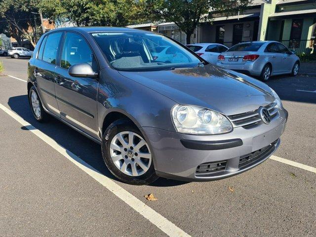 Used Volkswagen Golf V MY07 Comfortline South Melbourne, 2006 Volkswagen Golf V MY07 Comfortline Grey 6 Speed Manual Hatchback