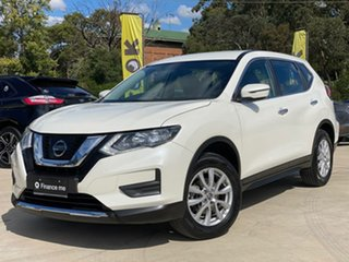 2019 Nissan X-Trail ST White Constant Variable Wagon.