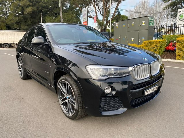 Used BMW X4 F26 xDrive35i Coupe Steptronic Botany, 2016 BMW X4 F26 xDrive35i Coupe Steptronic Black 8 Speed Automatic Wagon