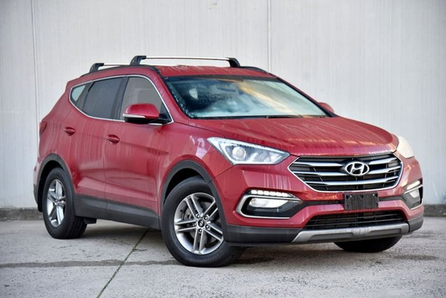 Used Hyundai Santa Fe DM3 MY17 Active Oakleigh, 2017 Hyundai Santa Fe DM3 MY17 Active Red 6 Speed Sports Automatic Wagon