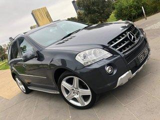 2010 Mercedes-Benz M-Class W164 MY10 ML350 CDI BlueEFFICIENCY AMG Sports Grey 7 Speed.