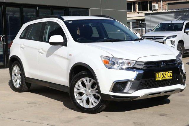 Used Mitsubishi ASX XC MY19 ES 2WD Tuggerah, 2019 Mitsubishi ASX XC MY19 ES 2WD White 1 Speed Constant Variable Wagon