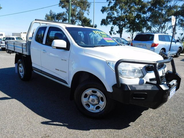Used Holden Colorado RG MY13 LX Space Cab Wangara, 2012 Holden Colorado RG MY13 LX Space Cab White 6 Speed Sports Automatic Cab Chassis