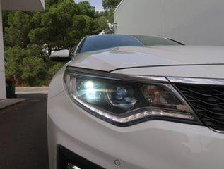 2019 Kia Optima JF MY20 GT White 6 Speed Sports Automatic Sedan.