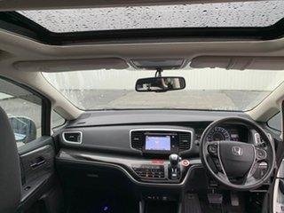 2015 Honda Odyssey RC MY15 VTi-L White 7 Speed Constant Variable Wagon.