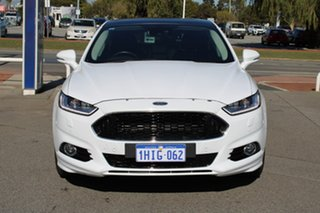 2018 Ford Mondeo MD 2018.75MY Titanium White 6 Speed Sports Automatic Dual Clutch Hatchback.