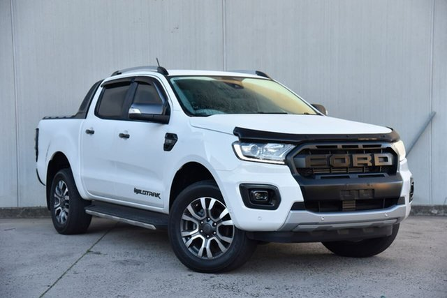 Used Ford Ranger PX MkIII 2019.00MY Wildtrak Oakleigh, 2019 Ford Ranger PX MkIII 2019.00MY Wildtrak White 6 Speed Sports Automatic Double Cab Pick Up