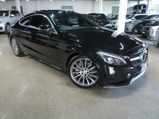 2016 Mercedes-Benz C-Class C205 C250 d 9G-Tronic Black 9 Speed Sports Automatic Coupe.