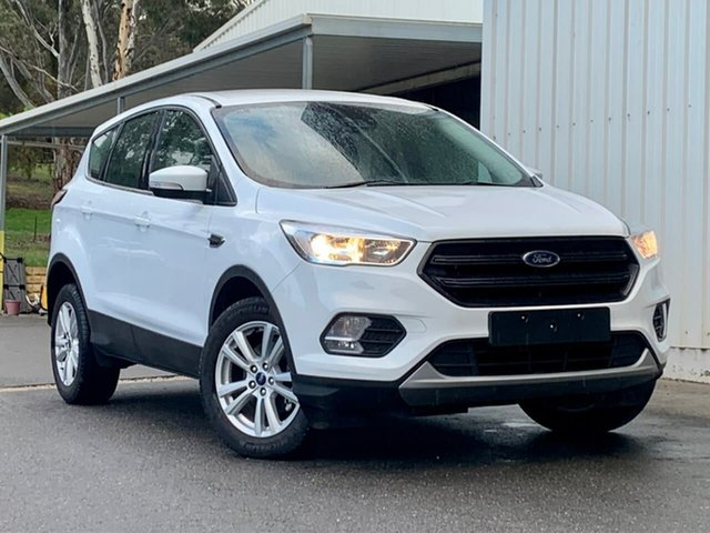 Used Ford Escape ZG 2019.25MY Ambiente Clare, 2019 Ford Escape ZG 2019.25MY Ambiente White 6 Speed Sports Automatic SUV