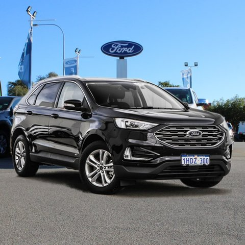 Used Ford Endura CA 2019MY Trend Midland, 2019 Ford Endura CA 2019MY Trend Black 8 Speed Sports Automatic Wagon