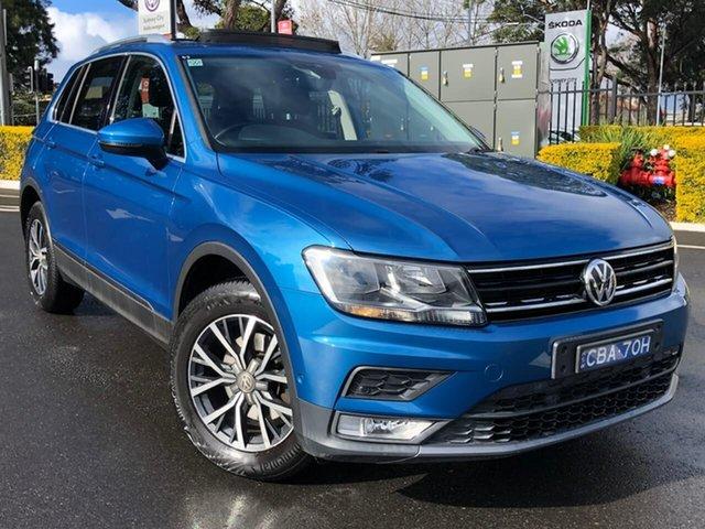 Used Volkswagen Tiguan 5N MY17 110TDI DSG 4MOTION Comfortline Botany, 2016 Volkswagen Tiguan 5N MY17 110TDI DSG 4MOTION Comfortline Blue 7 Speed