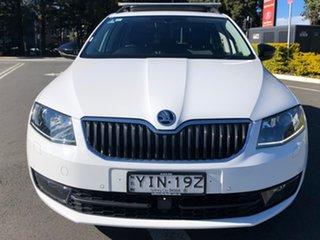 2017 Skoda Octavia NE MY17 Ambition DSG 110TSI White 7 Speed Sports Automatic Dual Clutch Wagon.