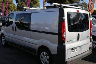 2012 Renault Trafic X83 Phase 3 Low Roof LWB Silver 6 Speed Manual Van