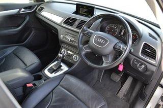 2014 Audi Q3 8U MY14 TFSI S Tronic Silver 6 Speed Sports Automatic Dual Clutch Wagon