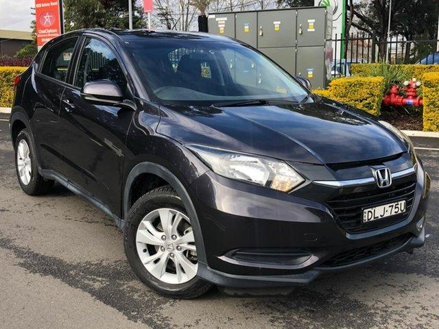 Used Honda HR-V MY16 VTi Botany, 2016 Honda HR-V MY16 VTi Black 1 Speed Constant Variable Hatchback