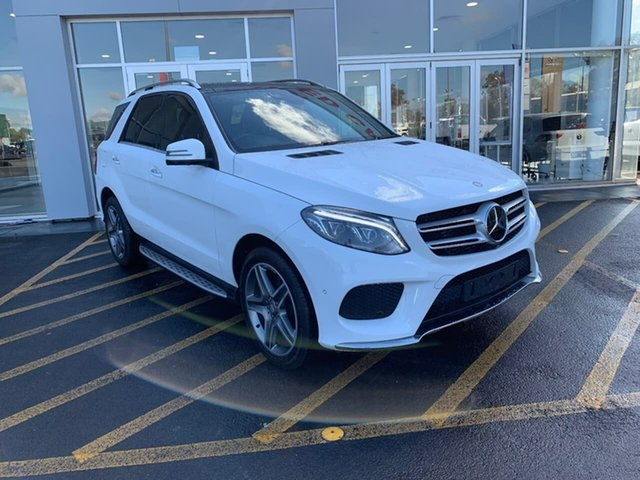 Used Mercedes-Benz GLE-Class W166 GLE350 d 9G-Tronic 4MATIC Epsom, 2015 Mercedes-Benz GLE-Class W166 GLE350 d 9G-Tronic 4MATIC White 9 Speed Sports Automatic Wagon