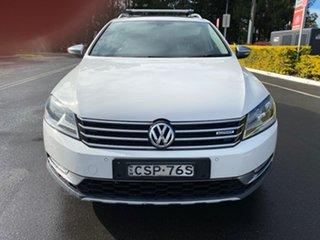 2013 Volkswagen Passat Type 3C MY14 Alltrack DSG 4MOTION White 6 Speed Sports Automatic Dual Clutch.