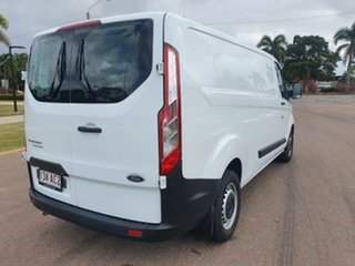 2020 Ford Transit Custom VN 2021.25MY 340L (Low Roof) Frozen White 6 Speed Automatic Double Cab Van.