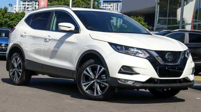 Demo Nissan Qashqai MY20 ST-L Castle Hill, 2020 Nissan Qashqai MY20 ST-L Ivory Pearl Continuous Variable Wagon