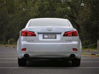 2008 Lexus IS GSE20R IS250 Prestige Pearl Blue 6 Speed Sports Automatic Sedan
