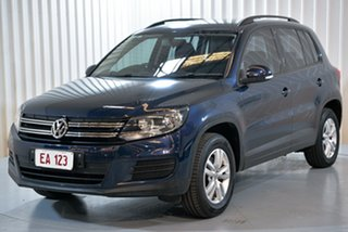 2015 Volkswagen Tiguan 5N MY15 118TSI 2WD Blue 6 Speed Manual Wagon.