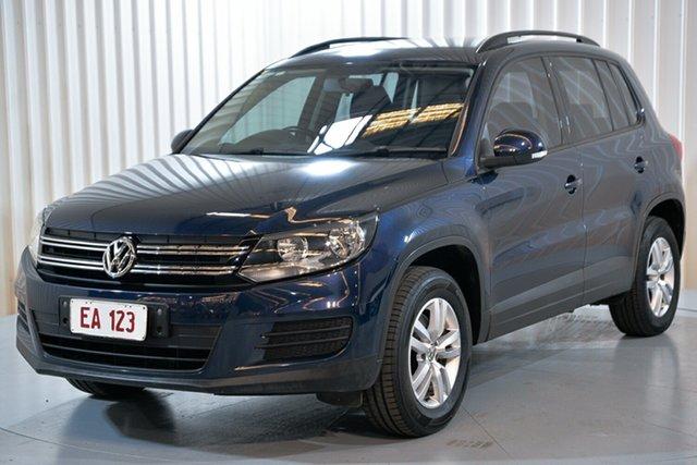 Used Volkswagen Tiguan 5N MY15 118TSI 2WD Hendra, 2015 Volkswagen Tiguan 5N MY15 118TSI 2WD Blue 6 Speed Manual Wagon