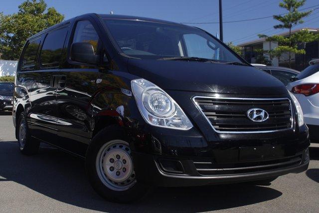 Used Hyundai iLOAD TQ3-V Series II MY17 Mount Gravatt, 2017 Hyundai iLOAD TQ3-V Series II MY17 Black 5 Speed Automatic Van