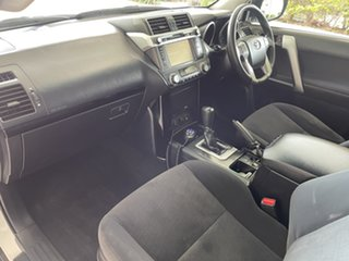 2017 Toyota Landcruiser Prado GDJ150R GX White/110417 6 Speed Sports Automatic Wagon