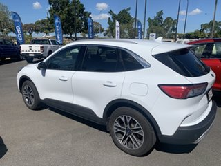 2021 Ford Escape ZH 2021.25MY White 8 Speed Sports Automatic SUV
