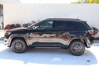 2021 Jeep Compass M6 MY21 S-Limited Brilliant Black Crystal Pearl 9 Speed Automatic Wagon