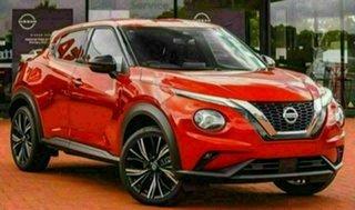 2020 Nissan Juke F16 TI Fuji Sunset Red 7 Speed Auto Dual Clutch Hatchback