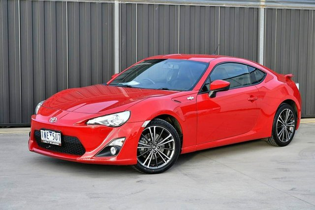 Used Toyota 86 ZN6 GTS Pakenham, 2014 Toyota 86 ZN6 GTS Red 6 Speed Manual Coupe