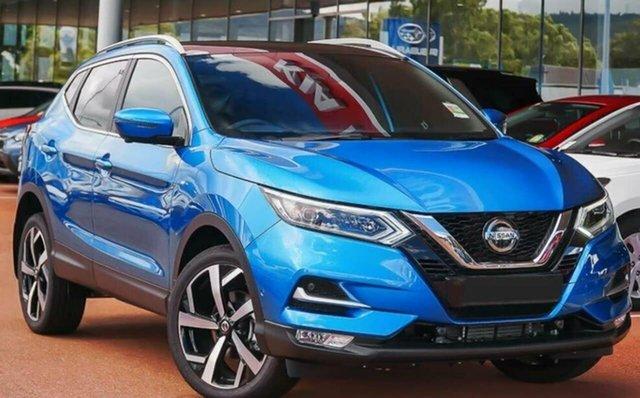 Demo Nissan Qashqai MY20 TI Castle Hill, 2021 Nissan Qashqai MY20 TI Vivid Blue Continuous Variable Wagon