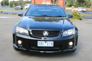 2009 Holden Commodore VE MY10 SS Black 6 Speed Automatic Utility.