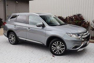 2015 Mitsubishi Outlander ZK MY16 Exceed 4WD Titanium Grey 6 Speed Sports Automatic Wagon.
