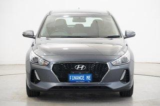 2019 Hyundai i30 PD2 MY19 Active Grey 6 Speed Sports Automatic Hatchback.