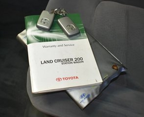 2007 Toyota Landcruiser VDJ200R GXL (4x4) Grey 6 Speed Automatic Wagon.