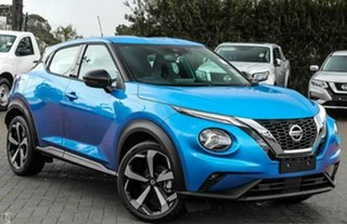 2021 Nissan Juke F16 ST-L Vivid Blue 7 Speed Auto Dual Clutch Hatchback.