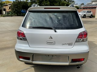 2004 Mitsubishi Outlander ZF VR-X White 4 Speed Sports Automatic Wagon