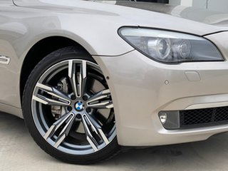2011 BMW 7 Series F01 MY1110 740i Steptronic Silver 6 Speed Sports Automatic Sedan