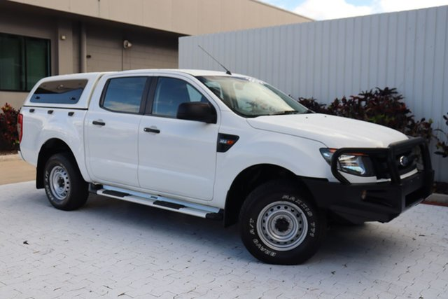 Used Ford Ranger PX XL Cairns, 2015 Ford Ranger PX XL White 6 Speed Sports Automatic Cab Chassis