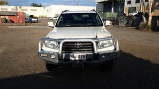 2012 Toyota Landcruiser VDJ200R Altitude SE White 6 Speed Automatic Wagon