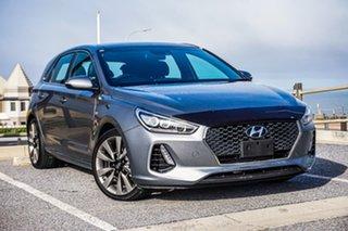 2018 Hyundai i30 PD MY18 SR D-CT Premium Silver 7 Speed Sports Automatic Dual Clutch Hatchback.