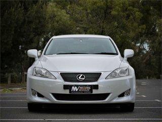 2008 Lexus IS GSE20R IS250 Prestige Pearl Blue 6 Speed Sports Automatic Sedan.