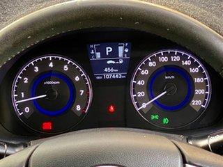 2011 Hyundai Accent RB Premium Phantom Black 4 Speed Sports Automatic Sedan