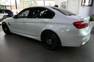 2018 BMW M3 F80 LCI Competition M-DCT White 7 Speed Sports Automatic Dual Clutch Sedan