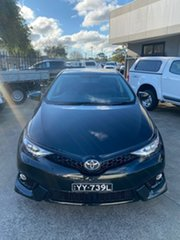 2016 Toyota Corolla ZRE182R ZR S-CVT Black 7 Speed Constant Variable Hatchback.