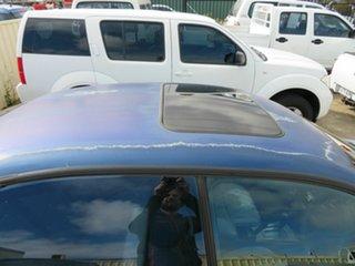 2001 Mitsubishi Magna Blue 4 Speed Automatic Sedan
