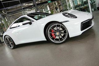 2019 Porsche 911 992 MY20 Carrera 4S PDK AWD White 8 Speed Sports Automatic Dual Clutch Coupe.